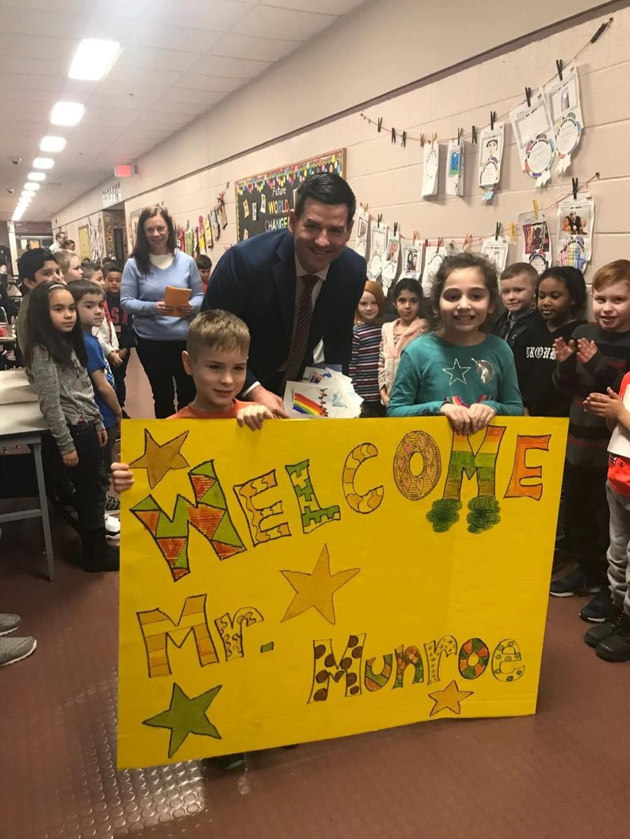 My first Day at Maple Hill. What an amazing welcome by the school community!