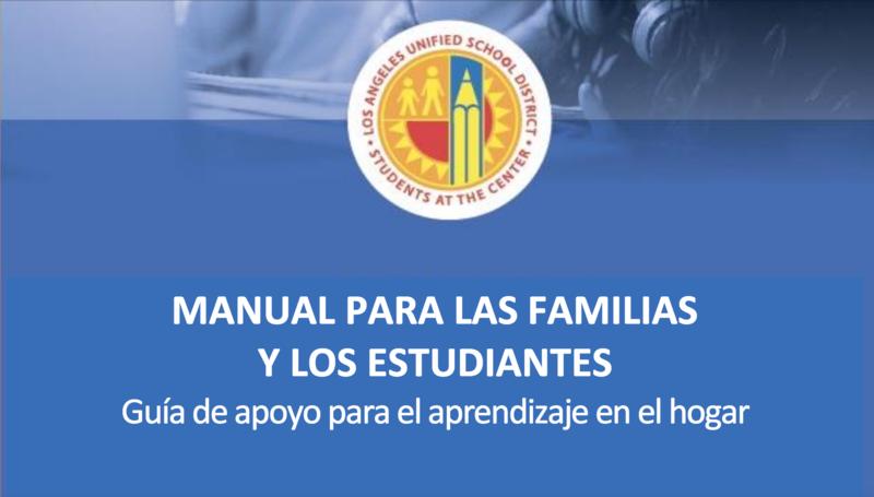 MANUAL PARA PADRES Y ESTUDIANTES Featured Photo