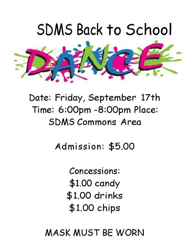 SDMS Dance Flyer