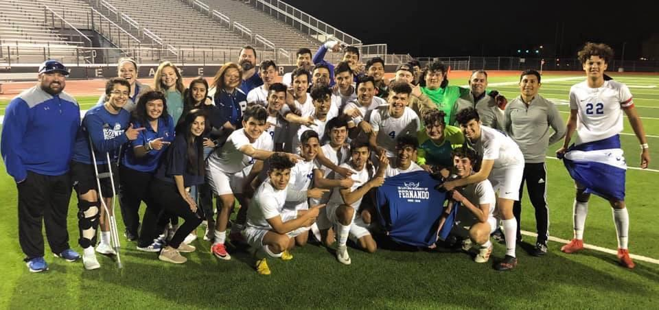 The Brewer High School soccer team defeated Colony High 1-0 for the Bi-District Championship on March 28.