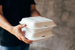 Styrofoam containers will be gone.