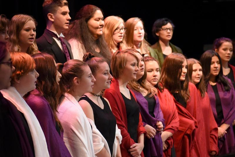Ukiah High School Vocal Music Department Brings Home Gold Thumbnail Image