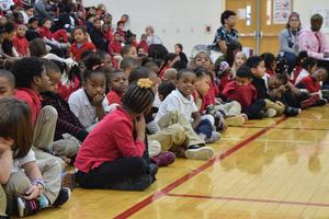 Students engaged in the program