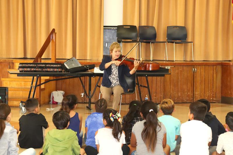 Whittier Regional Symphony Visits McKibben Elementary Featured Photo