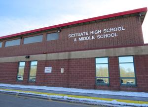 Scituate High School from the front