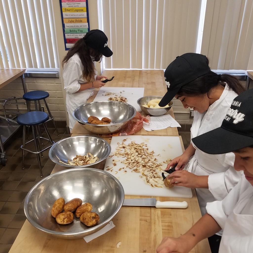 Preparing Thanksgiving Dinner 2017-2018