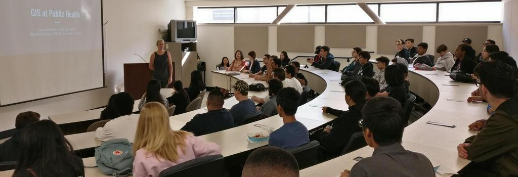 Stockdale Computer Science students attend CSUB Big Data Event