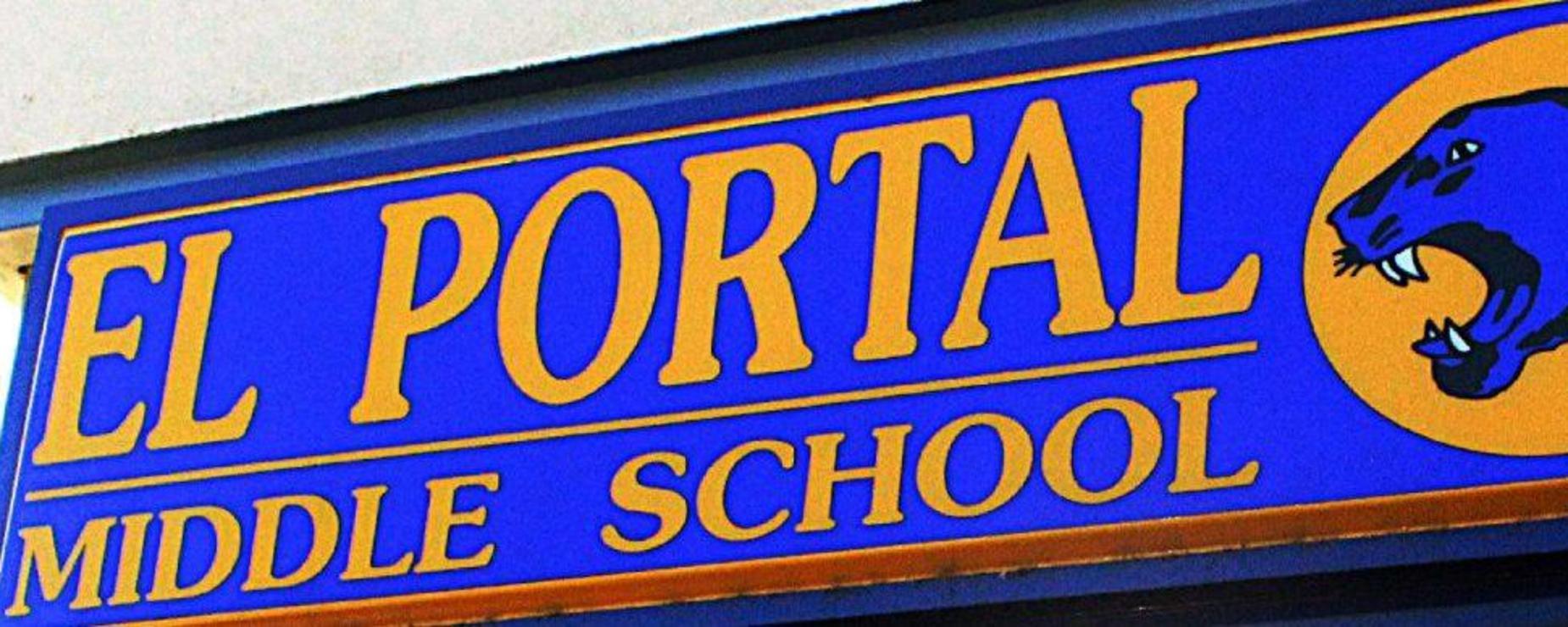 school signage
