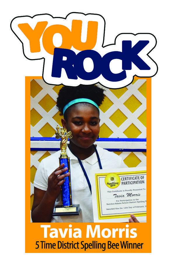 Tavis Morris NASD Spelling Bee Winner