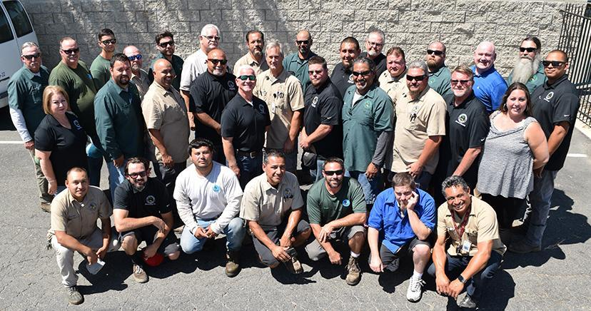 Maintenance and Operations crew photo.