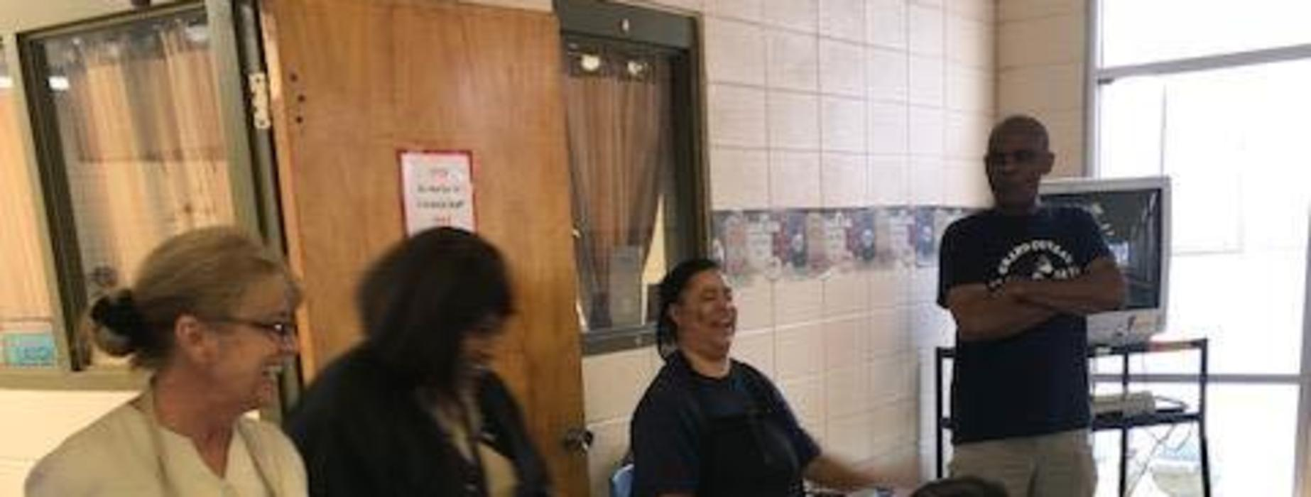 GCE Celebrates Cafeteria Worker Appreciation Day