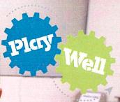 Play Well logo
