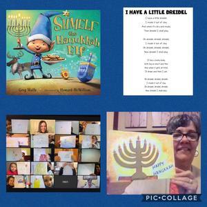 Hanukkah Activity collage