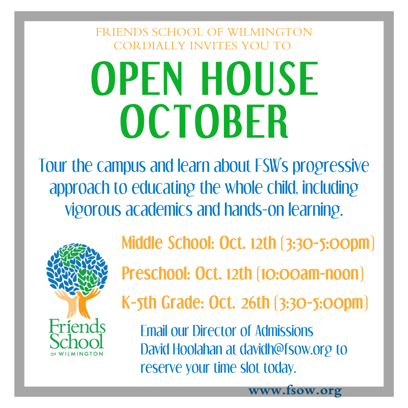 Open House October! Featured Photo