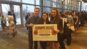 TKHS students attend the state BPA convention and contest.