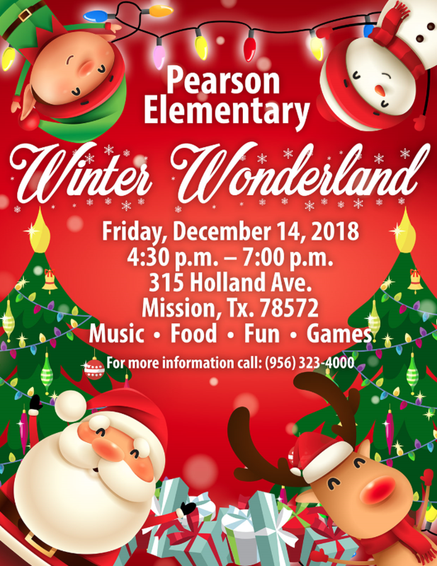 Winter Wonderland at Pearson Elementary Featured Photo