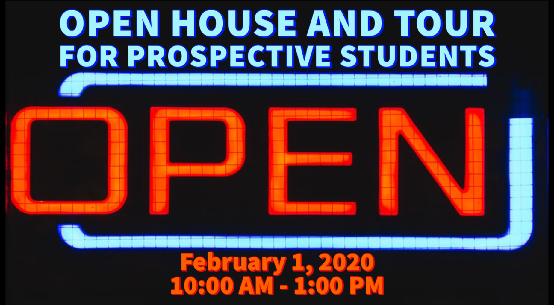 Open House 2020 Banner Image