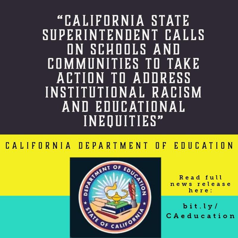 CA State Superintendent Statement