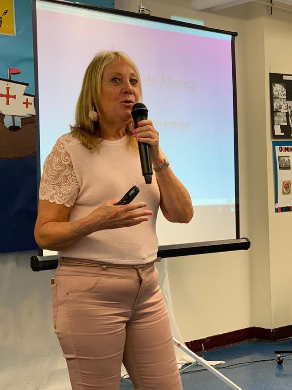 Presenter Nancy Aleman from Hoboken Family Planning