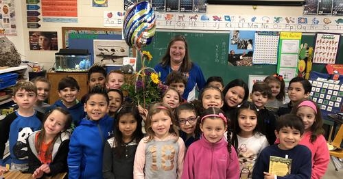 Milam's Teacher of the Year