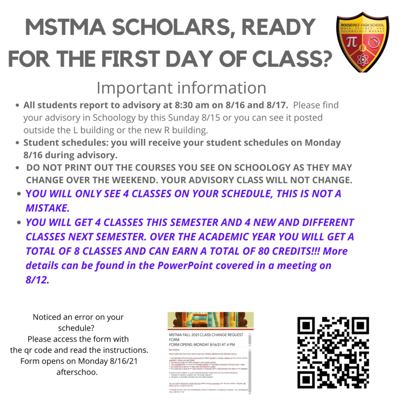 MSTMA SCHOLARS!  Are you ready for the first day of school?? Featured Photo