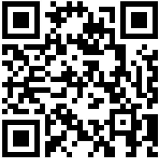 QR code for students to scan if they want to see a counselor.