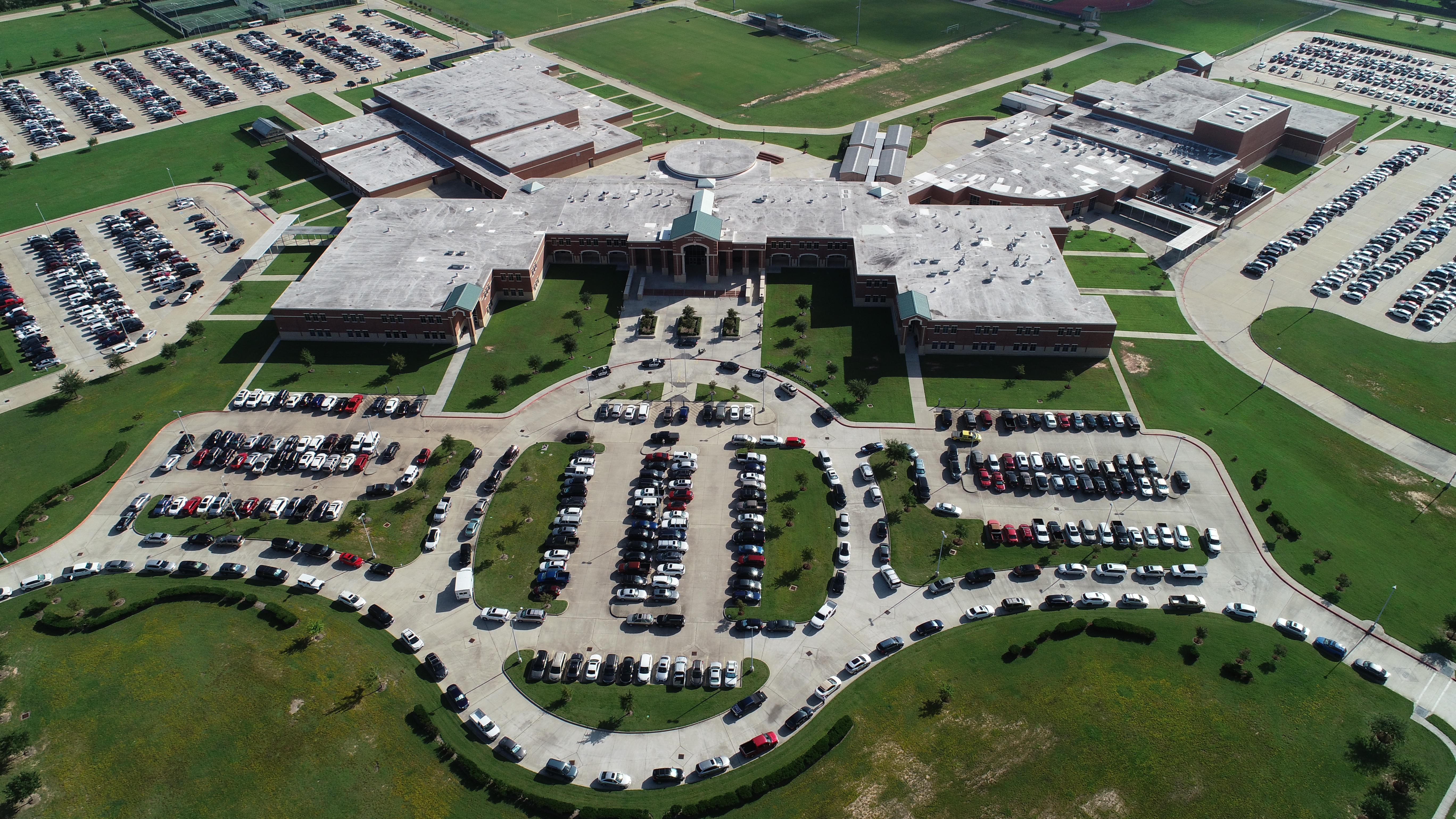 Drone pic of TMHS