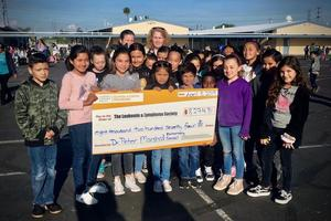 Fourth Grade class gets the most donations