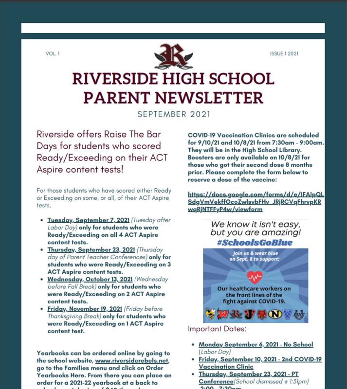 RHS September Newsletter Featured Photo
