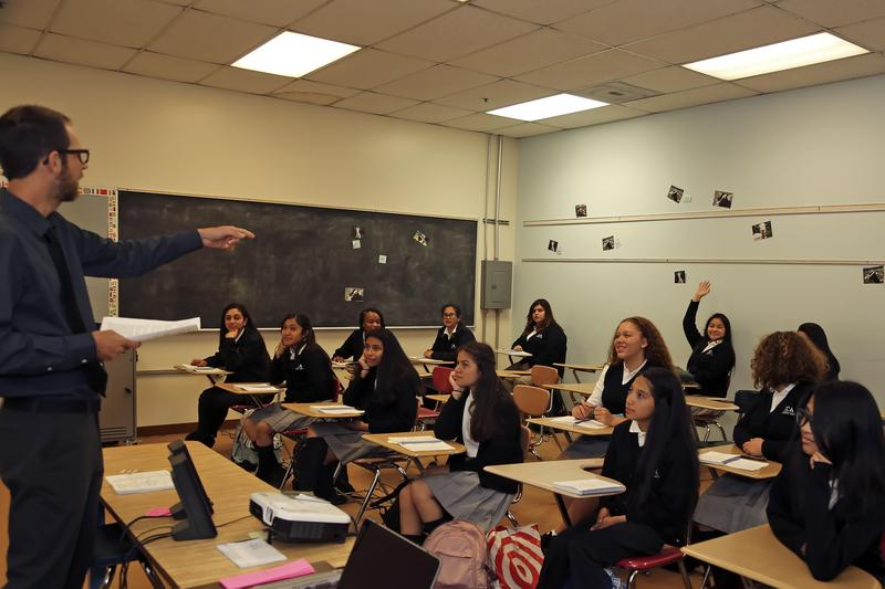 Classroom photo - Joseph Deschenes' room