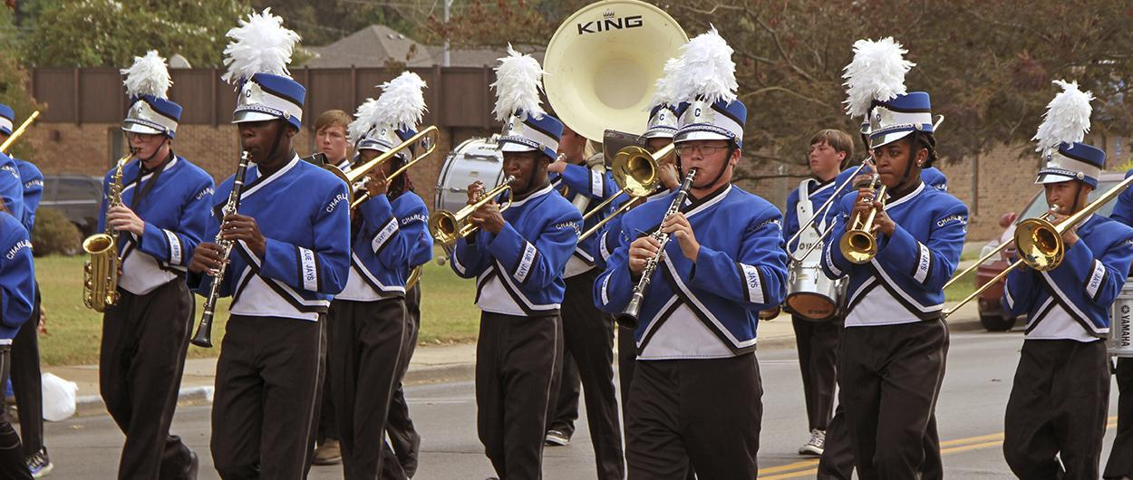 CHS Marching Band in parade