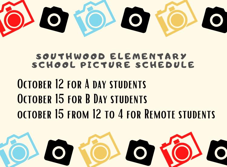 School Pic Schedule