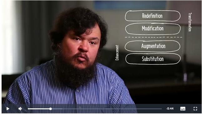 Dr. Puentedura - Applying the SAMR Model