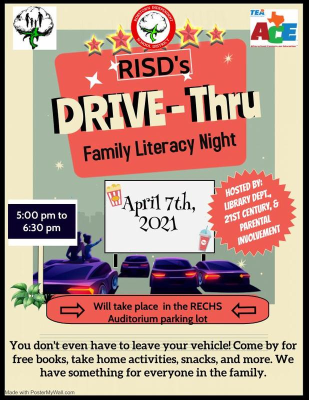Drive Thru Literacy Night Featured Photo