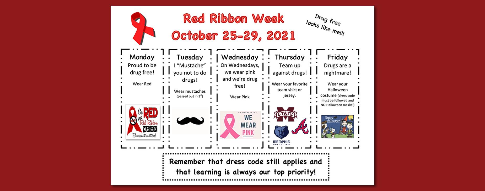 2021 Red Ribbon Week