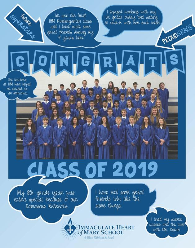 CONGRATULATIONS CLASS OF 2019 Thumbnail Image