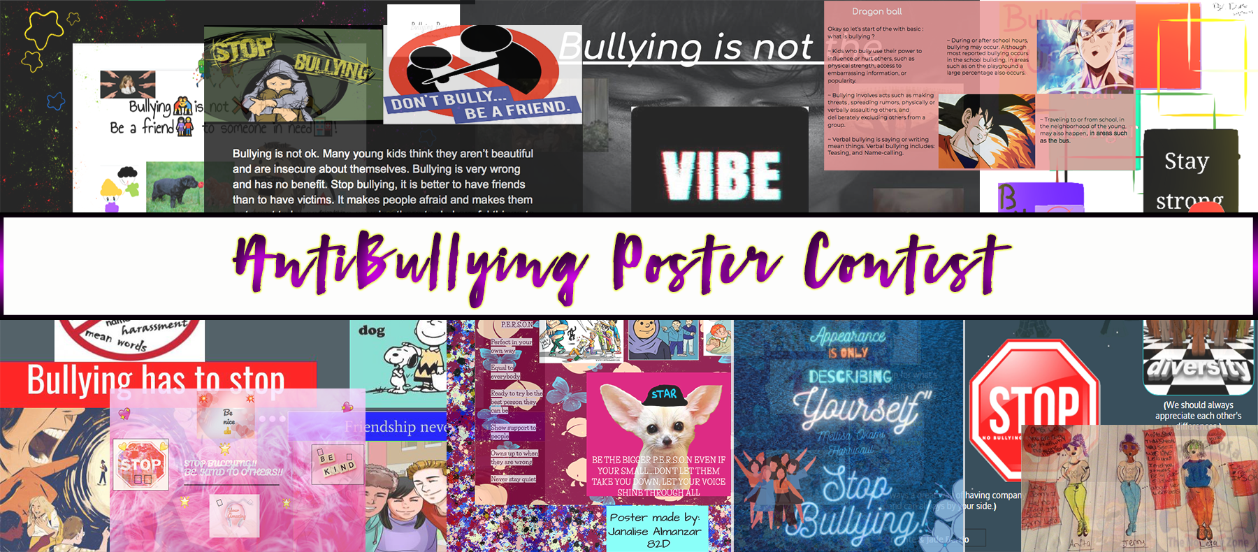 Anti-Bullying Contest Banner