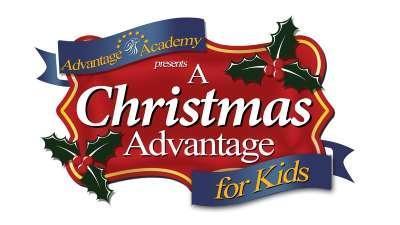A Christmas Advantage fundraiser graphic