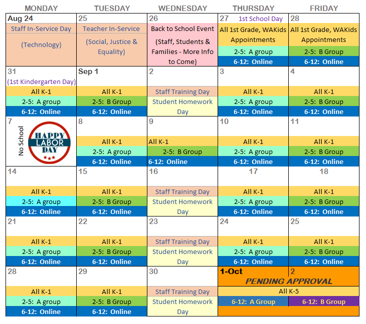 Startup Calendar