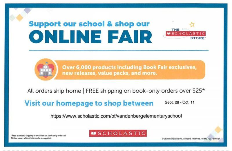 Vandenberg Library online book fair Featured Photo