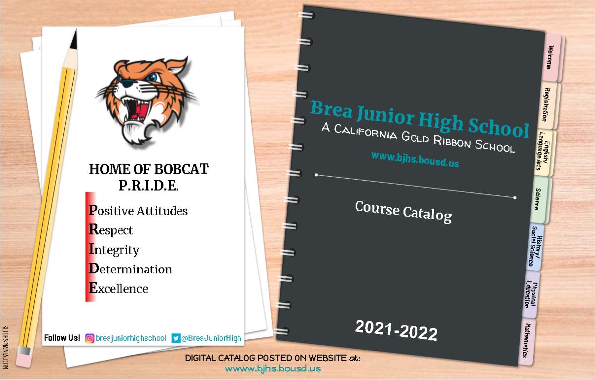 2021-2022 Course Catalog