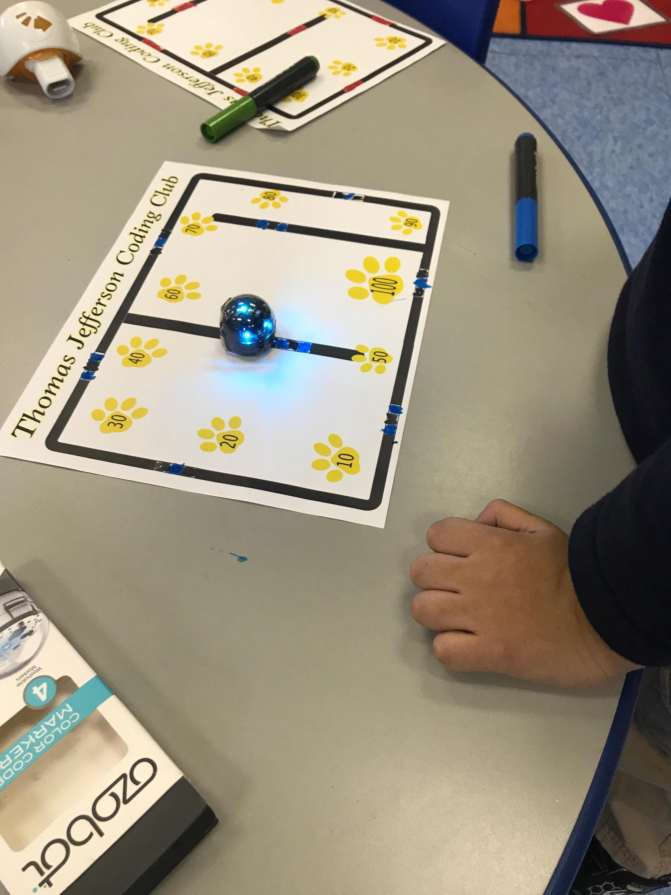 Ozobot counting