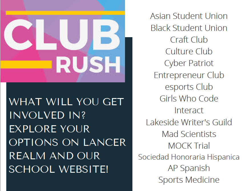 Club Rush Flyer