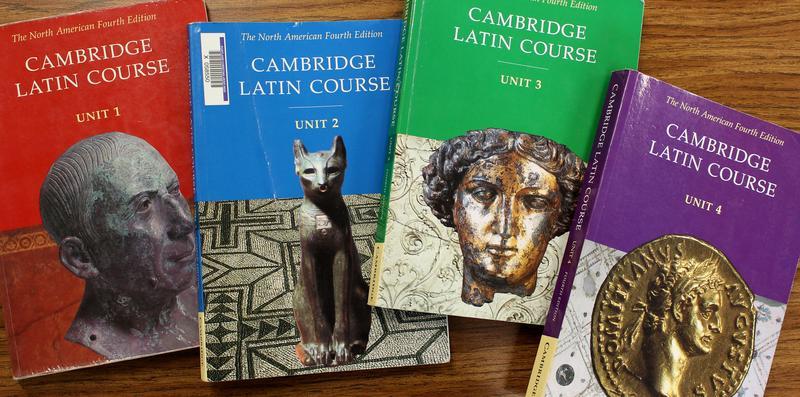 Latin textbooks