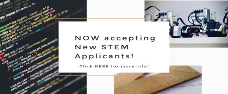 Now accepting new STEM applicants! Thumbnail Image