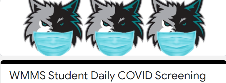 STUDENT DAILY COVID SCREENING LINK Featured Photo