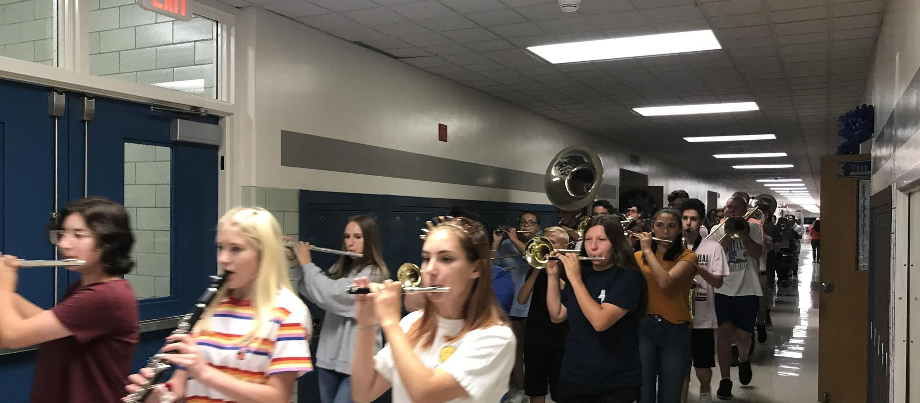 Band in the halls