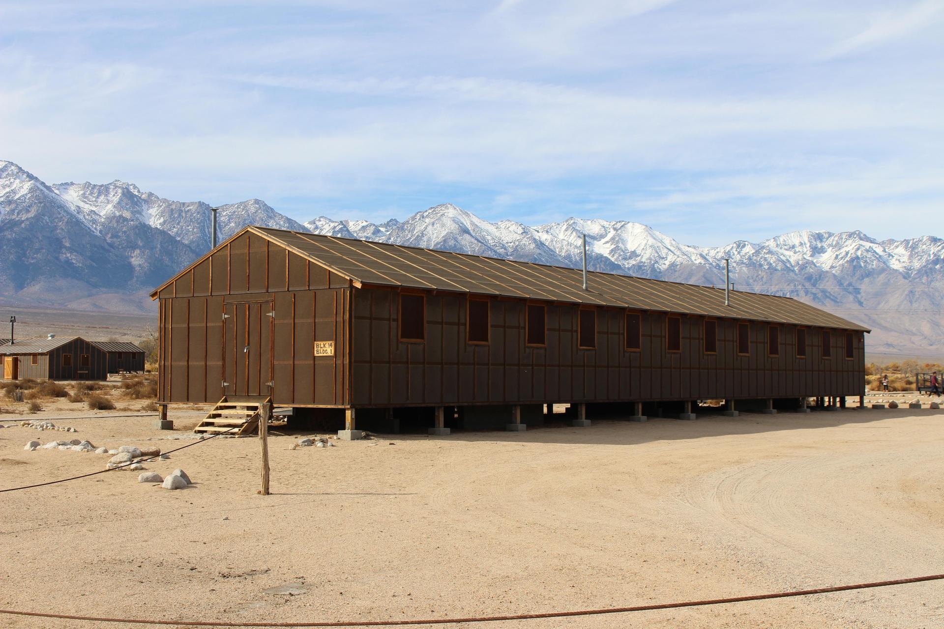 Reconstruction of the barracks