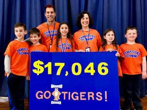 Tamaques School in Westfield Celebrates Record Reading Marathon