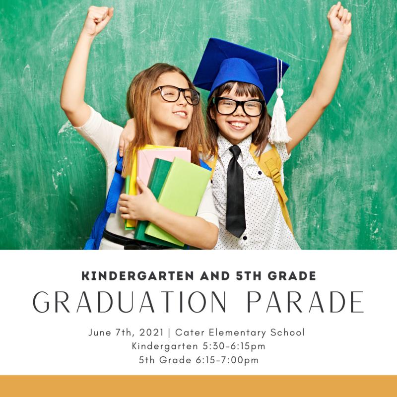 5th Grade and Kindergarten Graduation Parade Featured Photo